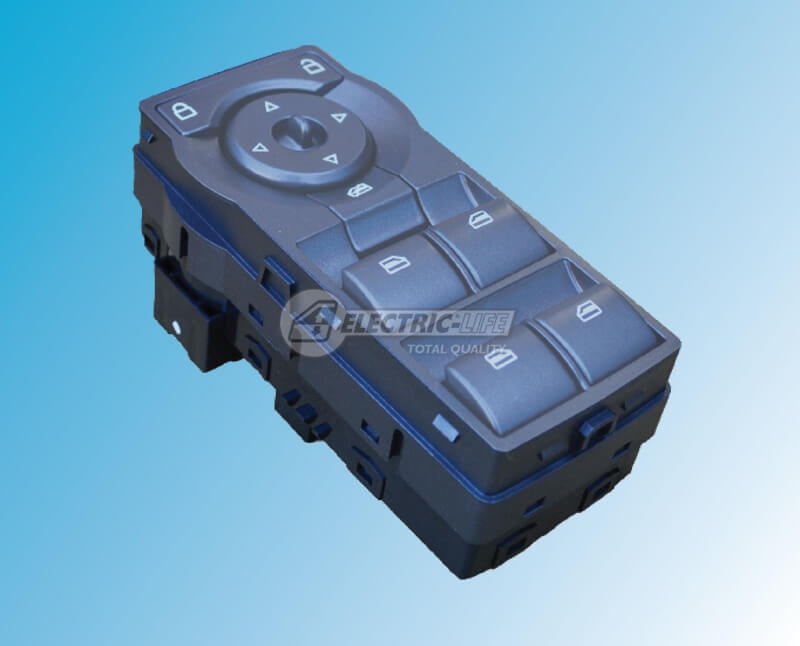 HOLDEN Commodore VE (Silver, Green LED) WINDOW SWITCH (OE# 92225344)