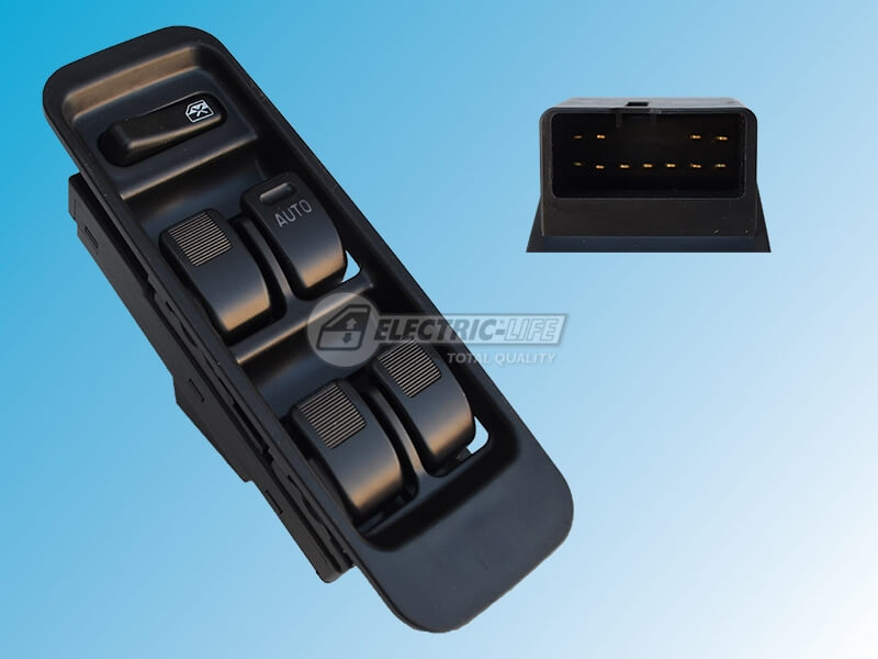 DAIHATSU Sirion (11 Pin Connector) DRIVER SIDE FRONT WINDOW SWITCH