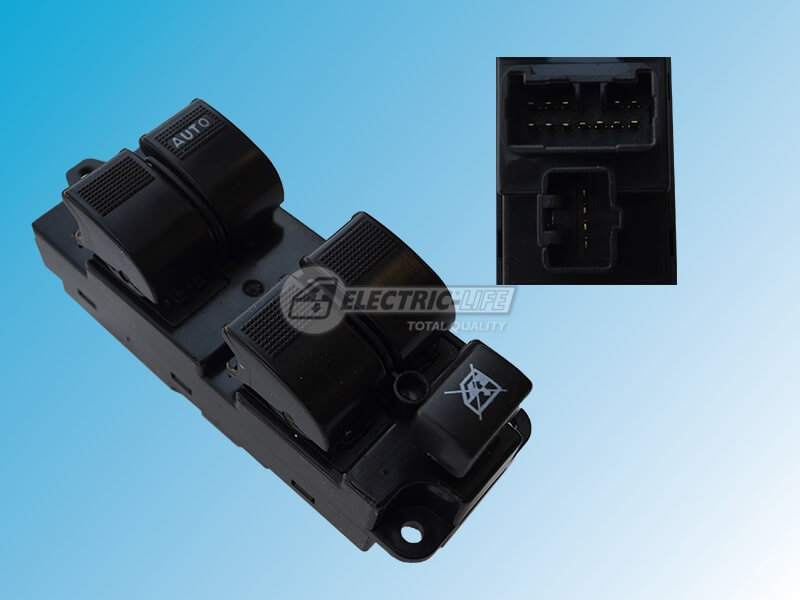 FORD Ranger PJ & PK 01/07>09/11 (4 Door) DRIVER SIDE FRONT WINDOW SWITCH (OE# UB9D66350)